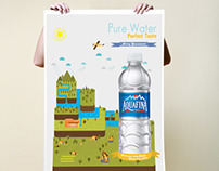 Aquafina concept adds
