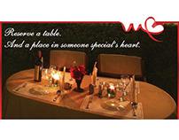 Seasonal Restaurant Print Ads