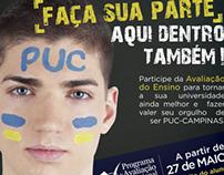 Layout - Avaliação de Ensino PUC Campinas 2013