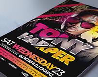 Artist Concert Event Music Flyer