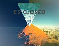 DJ Ks Closed - Logo Design