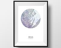 Aarhus map