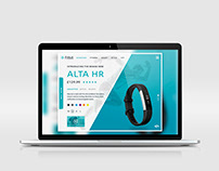FitBit Product Card