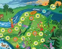 "Illustrations for ""Uhtishka"" magazine (5) (May-July)"