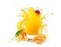 Orange drink visualization