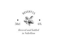 Revertis—beer branding & packaging