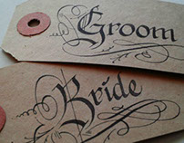 Calligraphy for Weddings.