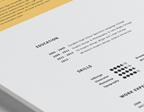 Resumé | Adam Ascroft