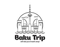 Logo for Baku Trip