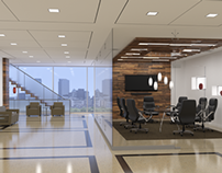 3D Images of Office Interiors