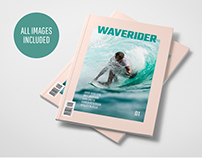 WAVERIDER MAGAZINE TEMPLATE