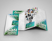Creative brochure design for Kartim