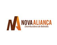 Logo - Nova Aliança - Distribuidora de Bebidas