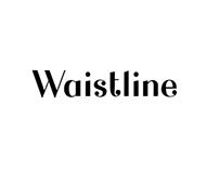 Waistline typography