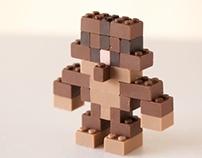 CHOCOLATE LEGO:ACGUY