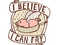 """I believe I can fry"" food truck"