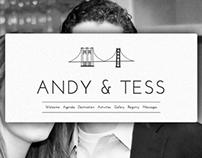 Tess & Andy's Wedding