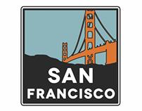 """San Francisco"" poster"