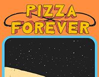 Pizza Forever Menu Design