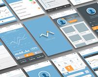 Free Mobile App UI (11 PSDs)
