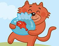 The Cat and Two Fishes / Soroush Khordsalan Magazine