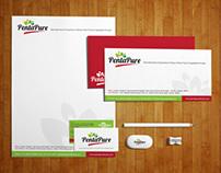 Penta Pure Logo & Stationary