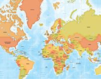 World Maps Mercator