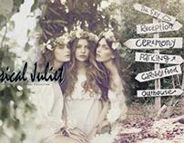 Whimsical Juliet (custom made bridal)