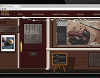 Cafe Aunty Maria - Website design