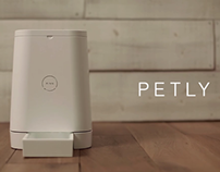 PETLY:Prime Auto Pet Feeder For Your Living.