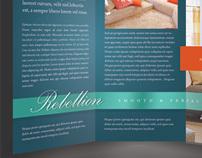Rebellion Trifold Brochure Template