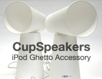 iPod Ghetto Speakers