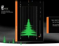 Genetix Sound Studio - Interactive Christmas Card, 2007