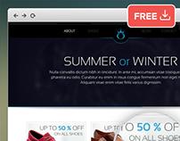S&W E-commerce Psd Website