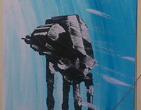 Empire Strikes Back canvas