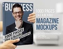 1000 Pages - Magazine Mockups