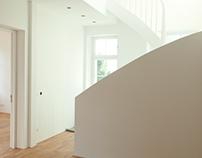 Sanierung und Umbau einer  Stadtvilla in Frankfurt