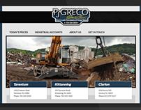 P.J. Greco Sons Responsive Website