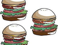 burgers print