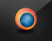 Orange Orb Iconset