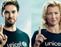Dona un día, Unicef