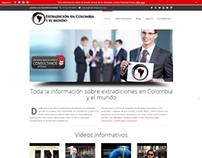 Wordpress customization - Extradicion Colombia