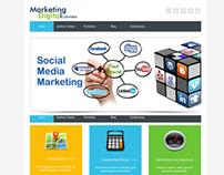 Wordpress customization - Marketing Digital Colombia