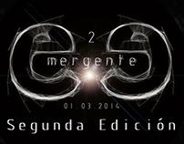 Publicidad para Emergente Segunda Edición.