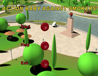 Action Baby Against Smokers