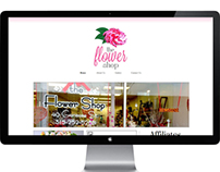 The Flower Shop re-Branding & Website Design
