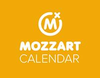 Mozzart calendar app