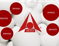 Web de bolas de alúmina (www.hito.es)