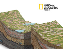 Illustration for the magazine National Geographic