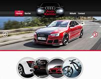 Audi Karrier Webdesign